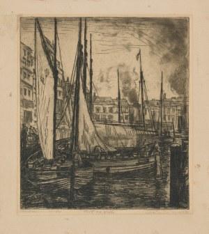 Wojnarski Jan (1879 - 1937), Port na Wiśle, lata 20. XX wieku