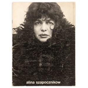 """Szapocznikow Alina, Katalog wystawy """"Alina Szapocznikow 1926-1973. Tumeurs, herbie, 1973"""