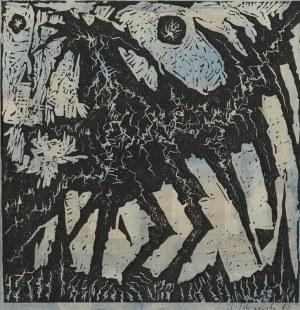 Jerzy Tchórzewski, Bez tytułu, 1960