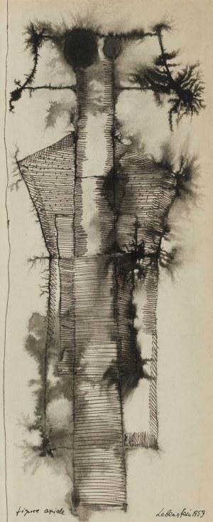 Jan Lebenstein, Figura osiowa, 1959