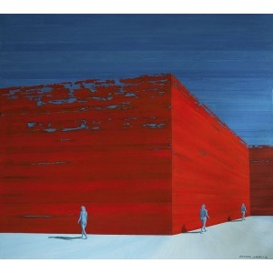 Dariusz Grabuś, Niebieski z czerwonym, 2014