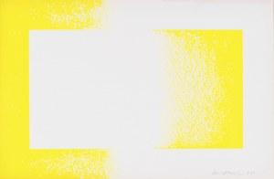 Richard Anuszkiewicz (1930 - 2020), Żółty odwrócony, z teki