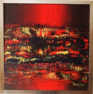 Marta Dunal, Red structure 3, 2020