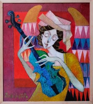 Jan Bonawentura Ostrowski, Dziewczyna z mandoliną, 2021
