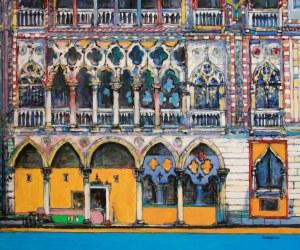 Piotr Rembieliński, Colori di Venezia, Palazzo d'Oro, 2020