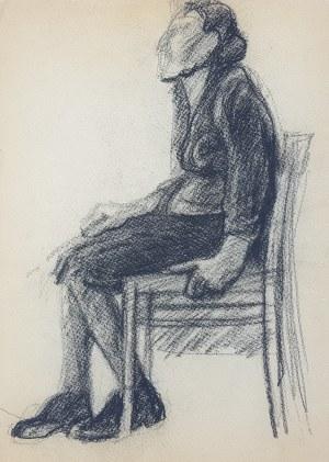 Jerzy Świątkowski, Kobieta siedząca