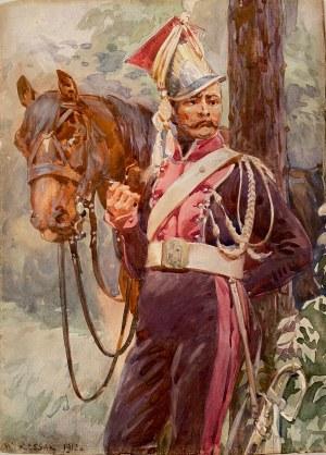 Wojciech Kossak, ''Szwoleżer z koniem''