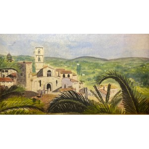 Rafał Malczewski(1892-1965), ''Brazylijska wioska''