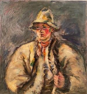 Kazimierz Sichulski(1879-1942), ''Młody Hucuł''