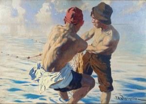 Michał Feliks Wygrzywalski(1875-1944), ''Rybacy''