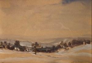Stefan Filipkiewicz(1879-1944), ''Zima na Podhalu''