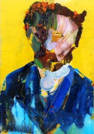 Michał CZUBA, Portret Vincenta, 2021 r.