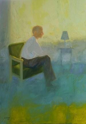 Agata RUMAN, Zielony fotel, 2020 r.
