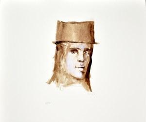 Leonor FINI (1907-1996), Mężczyzna w kapeluszu