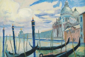 Stanisław KAMOCKI (1875-1944), Wenecja - Canal Grande, ok. 1925