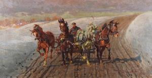 Zygmunt ROZWADOWSKI (1870-1950), Czwórka, 1922