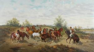 Ludwik GĘDŁEK (1847-1904), Na puszcie