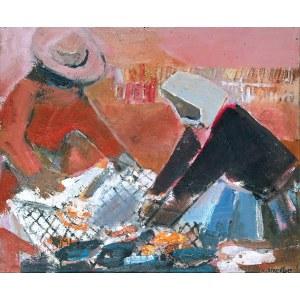 Rajmund Kanelba (Kanelbaum) (1897-1960), Rybacy, ok. 1958