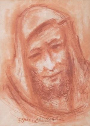 Jacques Zucker (Jakub Cukier) (1900-1981), Portret brodatego mężczyzny