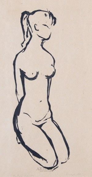 Krystyna Bieniek (ur.1930), Akt, ok. 1958 r.