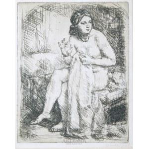 Jan Wojnarski (1879-1937), Studium aktu