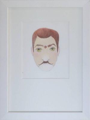 Kazimierz MIKULSKI (1918-1998), Projekt maski męskiej