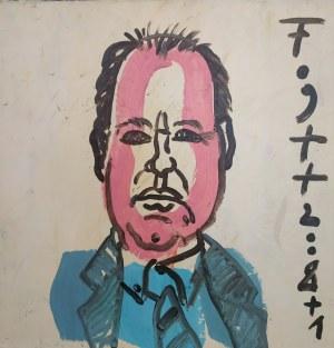 Andrzej FOGTT (ur. 1950) - Portret Adama Konopackiego, historyka sztuki, 2009
