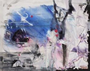 Jerzy Treit, Błękit w lodzie, 2020