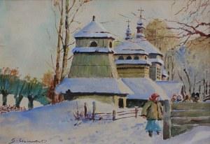 Stanisław Gibiński (1882-1971), W drodze do kościoła