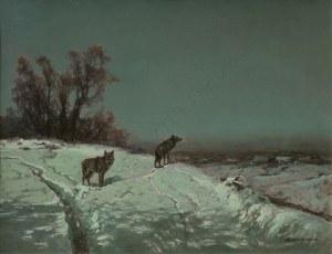 Wiktor Korecki (1890-1980), Wilki zimą