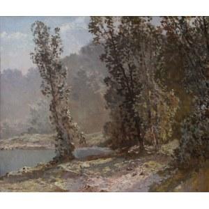 Konstanty Mackiewicz (1894-1985), Pejzaż z wodą