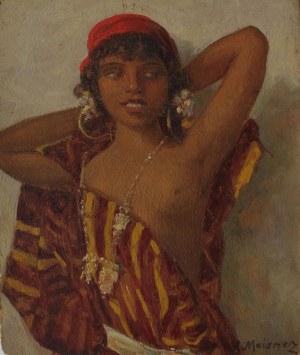 Salomon Meisner (1886-1942), Półakt młodej Marokanki