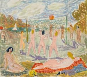 Jan Szancenbach (1928-1998), Relaks nad wodą I