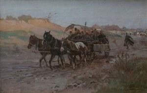 Ignacy Zygmuntowicz (1875-1947), Powrót z targu