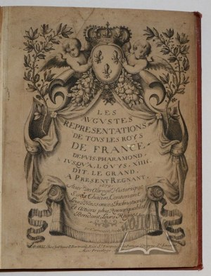 (L'ARMESSIN NICOLAS (de)., Les Augustes représentations de tous les roys de France,