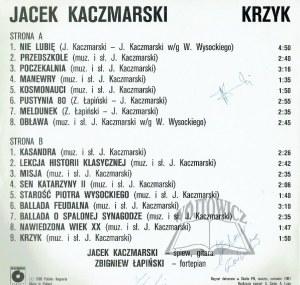 (PŁYTA winylowa). KACZMARSKI Jacek (1957-2004), poeta, kompozytor i piosenkarz.