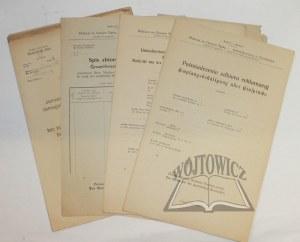 (PLEBISCYT) Zbiór druków związanych z plebiscytem na Górnym Śląsku.