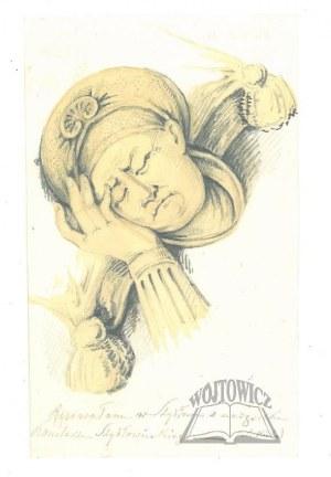 KICKA Natalia (1801-1888), (Szydłowiecki kanclerz).