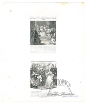 OLESZCZYŃSKI Antoni (1794-1879)., Sigismond Auguste Roi de Pologne..., Etienne Czarniecki.