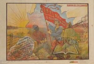 (PLAKAT antypolski. 1920 rok).