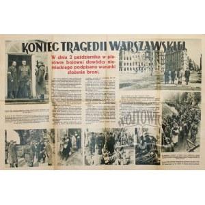 (POWSTANIE Warszawskie) KONIEC tragedii warszawskiej.