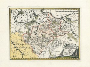 (POLSKA). Der Königlichen Republik Polen Woiwodschaften Sieradz, Lentschitz und Rawa oder Gross Polens südlicher Theil. Nro 40.
