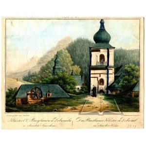 (DOBROMIL) Klasztor O.O. Bazylianów w Dobromilu w obwodzie Sanockim.