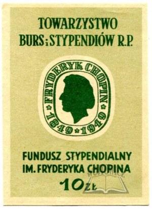 CHOPIN Fryderyk 1849-1949.
