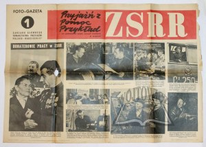 FOTO-Gazeta Zarządu Głównego Towarzystwa Przyjaźni Polsko-Radzieckiej.