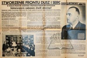 NOWINY. Gazeta ścienna dla polskiej wsi.