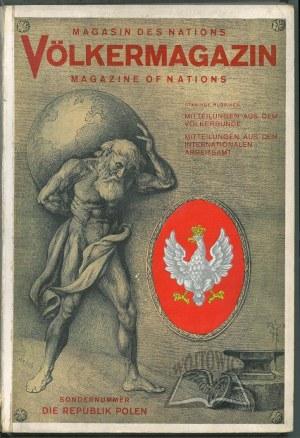 VÖLKERMAGAZIN. Magasin des nations. Magazine of nations.