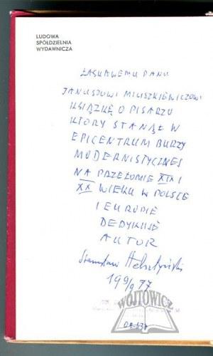 HELSZTYŃSKI Stanisław, Przybyszewski.
