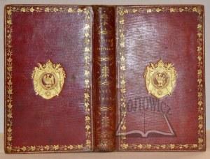 (Z BIBLIOTEKI NAPOLEONA). Postes Imperiales. Etat General des Postes et Relais de l'Empire Francais.