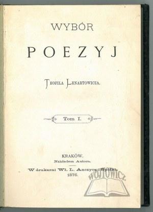 LENARTOWICZ Teofil, Wybór poezyj.